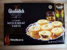 Walkers Glenfiddich Mincemeat Tarts
