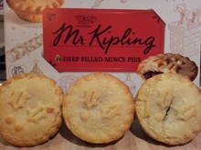 Actual Mr Kipling pies, no parody necessary